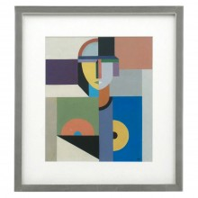 Abstract Figural Painting on Board