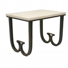 Textured Iron Table Att: Paul Kiss