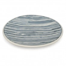 Blue and White Porcelain Plate