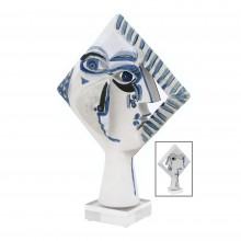 Abstract Figural Ceramic Sculpture by John Born
