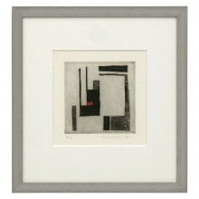 Abstract Lithograph by Jorj Morin