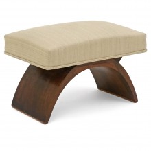 Rosewood Curule Form Bench