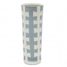 Studio Art Blue and White Porcelain Vase