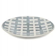 Studio Art Blue and White Porcelain Platter