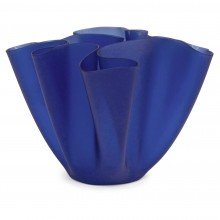Cobalt Blue Glass Vase