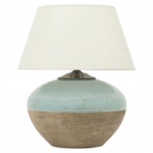 Half Glazed Celadon Table Lamp