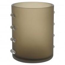 Bronze Glass Murano Vase