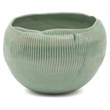 Ribbed Porcelain Bowl