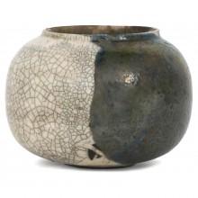 French Raku Vase