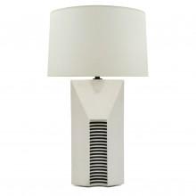 Ceramic Black and White Lamp