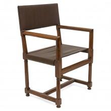 French Walnut Hall Chair
