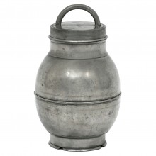 French Pewter Soupier