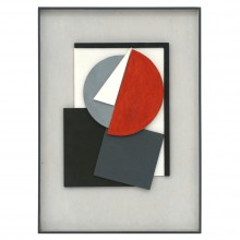 Abstract Wood Figural Collage