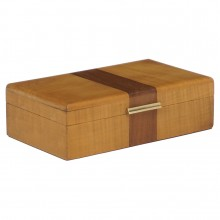 Small Sycamore Art Deco Box