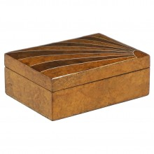Walnut Art Deco Box