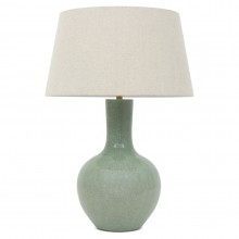 Celadon Stoneware Table Lamp