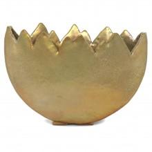 Gold Iridescent Tulip Vase