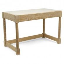Christian Liagre Cerused Oak Desk