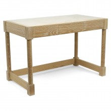 Christian Liagre Cerused Oak Desk