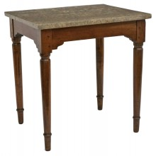 French Walnut Side Table