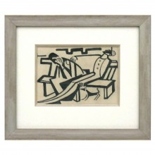 Figural Abstract Painting