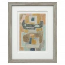 Abstract Crayon Drawing by Pacanowska