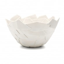 Large Corrugated Fragment Bowl