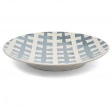 Large Porcelain Blue and White Platter