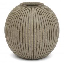 Gray Stoneware Vase