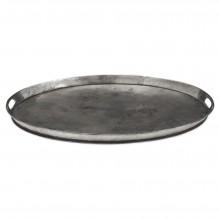 Oval Polished Steel Tray