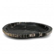Petrified Wood Shallow Bowl