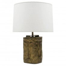 Bronze Figural Table Lamp