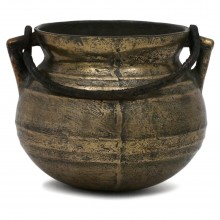 Brass Pot with Steel Handle