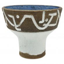 Dutch Stoneware Compote