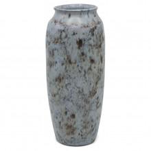 Dutch Light Blue and Black Vase