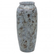 Dutch Light Blue and Black Vase