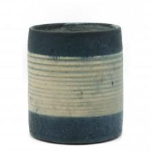 Blue and Beige Vase