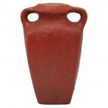 Dutch Matte Glazed Red Vase
