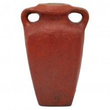 Dutch Matte Glazed Red Vase