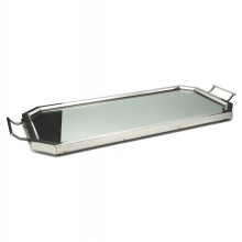 Mirrored Silver Plate Tray