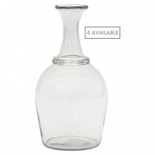 French Hand Blown Glass Bottles