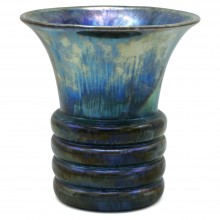 Iridescent Blue/Green Vase
