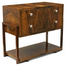 Mahogany Two Drawer Cabinet