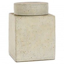 Square Jar with Lid by Gambone