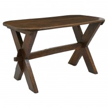 Chestnut Table with X-Form Supports