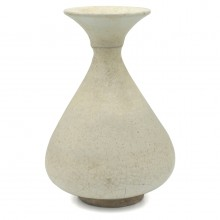 Thai White Terra Cotta Vase
