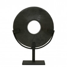 Stone Disc on Stand