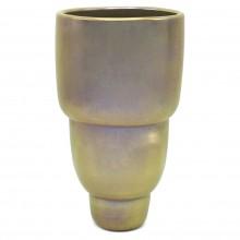 Iridescent Taupe Vase