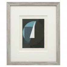 Abstract Figural Gouache