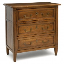 French Walnut Commode